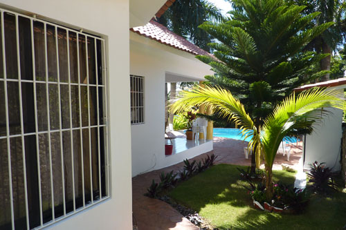 #8 Villa in gated beachfront residential area Cabarete