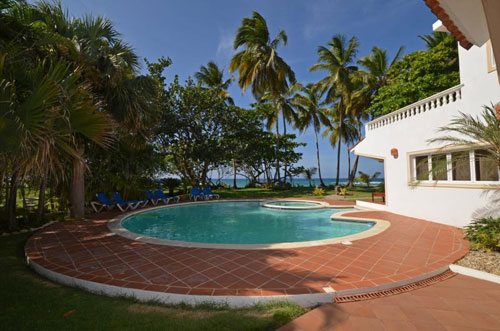 #12 Magnificent Beachfront Luxury Villa in secured gated community