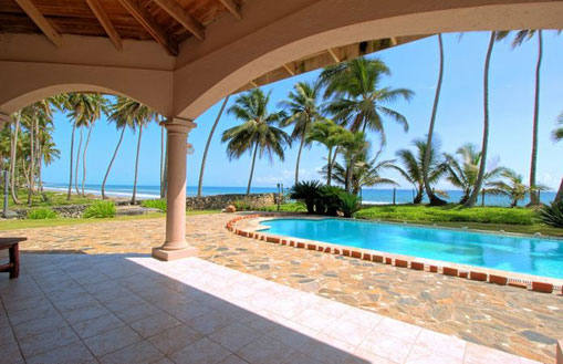 #2 Unique beachfront villa just outside Cabarete