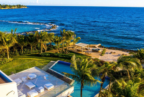#8 Unique stunning modern waterfront mansion at Casa de Campo