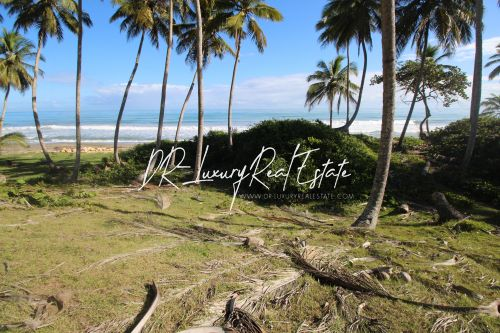 #5 Beach front lot for sale near Cabarete