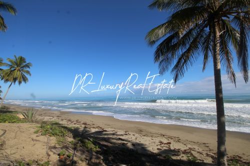 #7 Beach front lot for sale near Cabarete