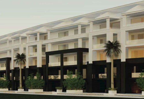 #4 Brand new luxury condos overlooking the 9th hole of the Hard Rock Golf Course
