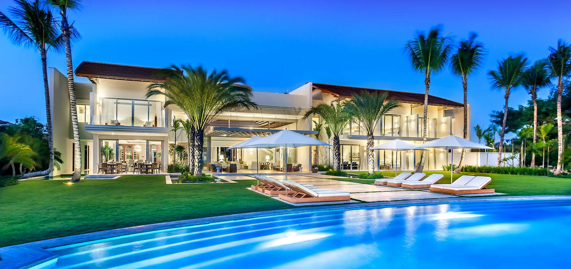 #0 Unique stunning modern waterfront mansion at Casa de Campo