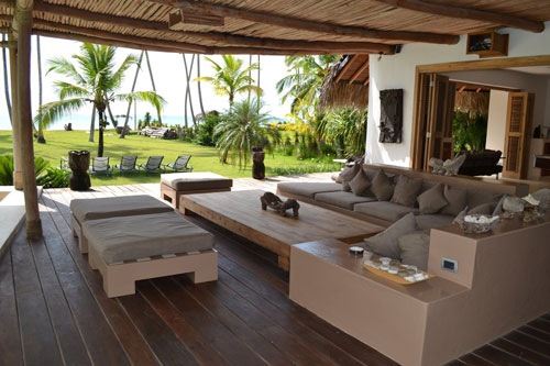 #13 Beautiful large beachfront villa with very good rental income
