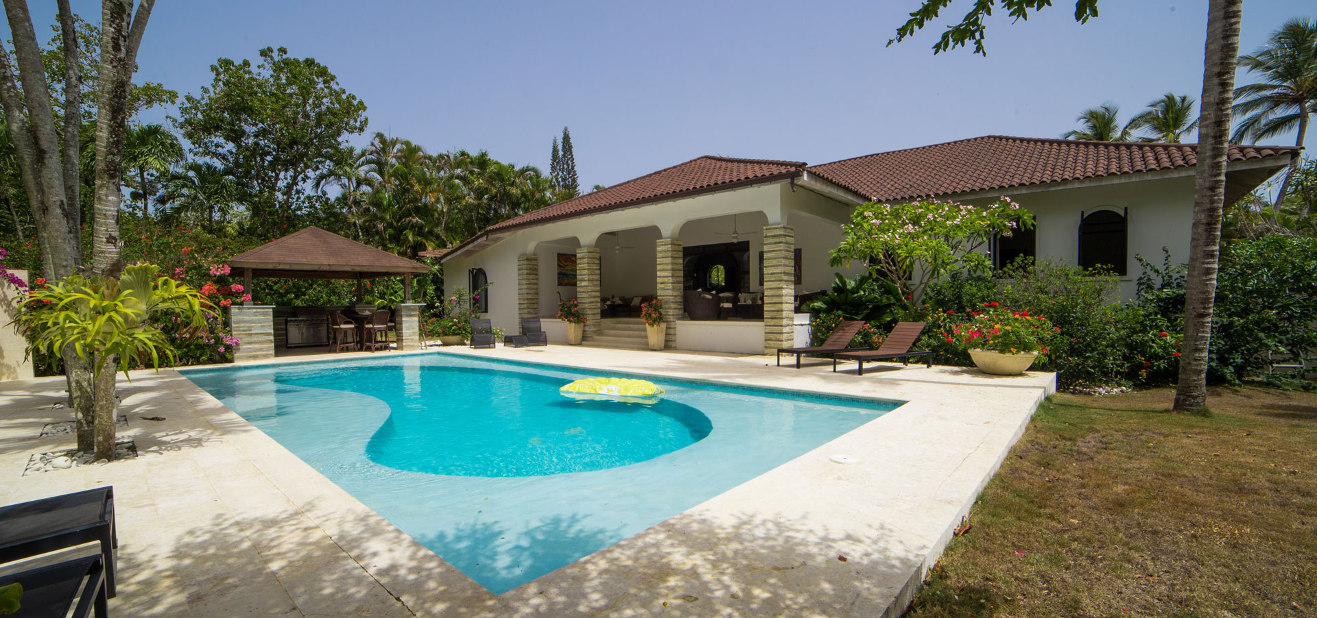 Beautiful villa in p in the Dominican Republic