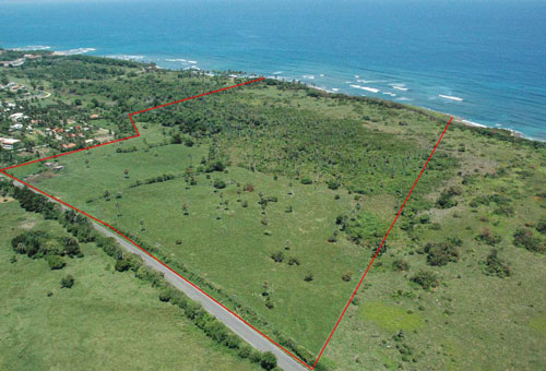 #13 Prime beachfront land for sale in Cabarete