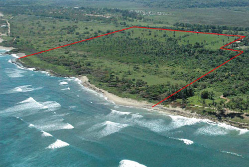 #14 Prime beachfront land for sale in Cabarete