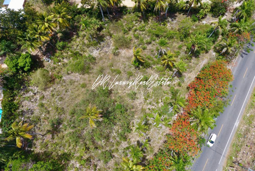#0 Commercial lot on main highway, close to downtown Sosua