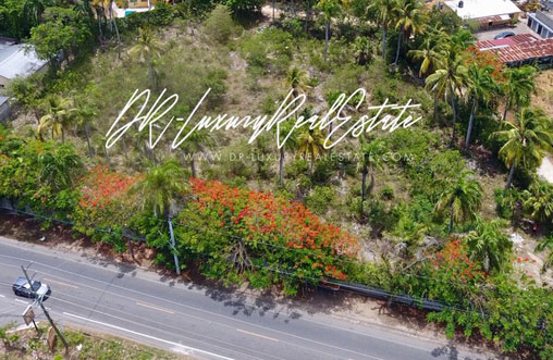 #11 Commercial lot on main highway, close to downtown Sosua