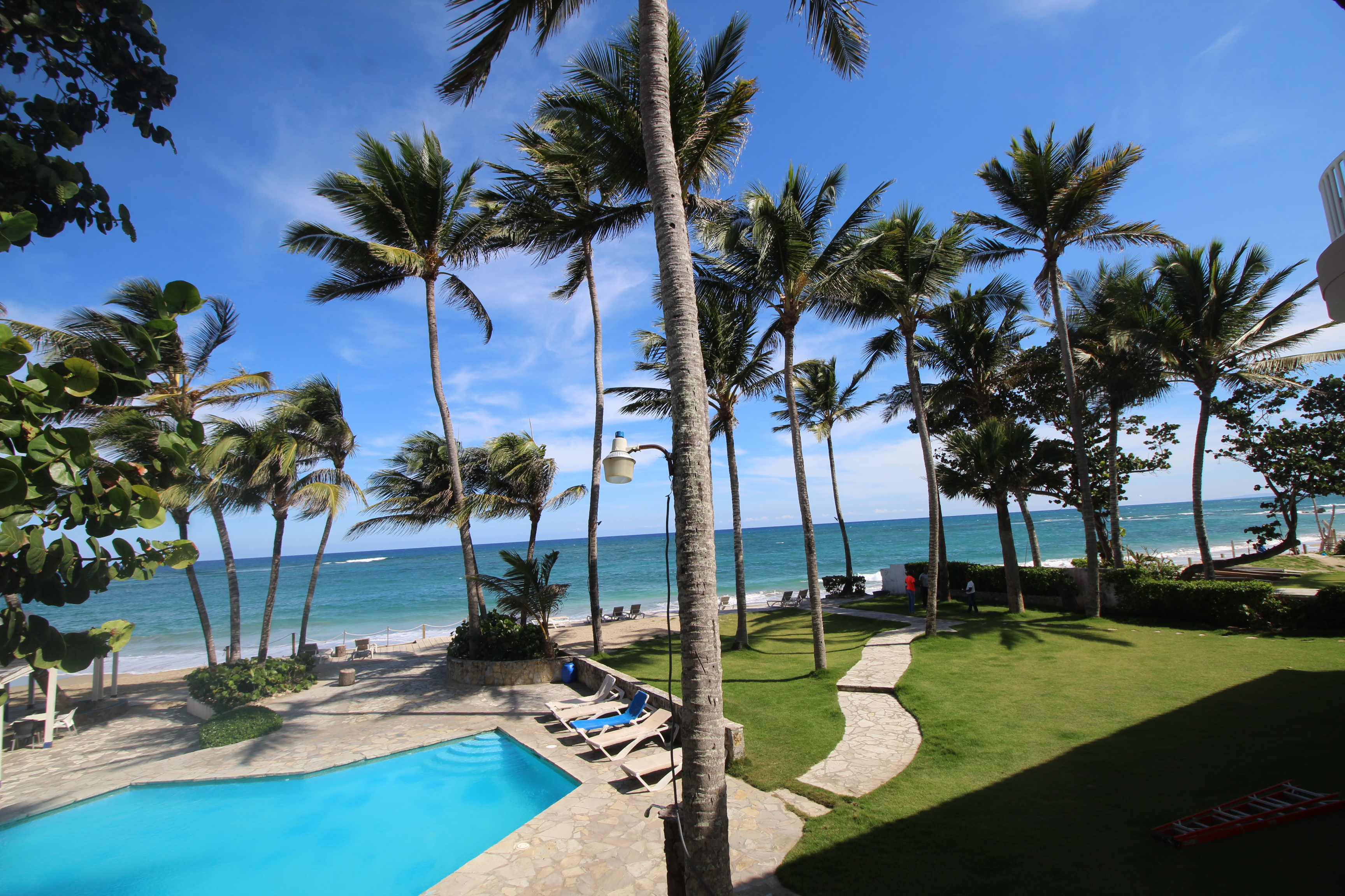 #14 Beachfront penthouse for sale right on Kite Beach Cabarete