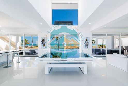 #4 Modern Luxury Beachfront Villa for Rent
